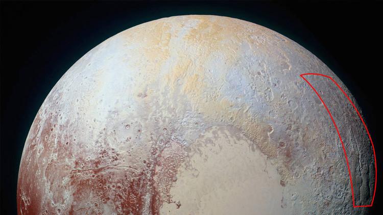 """La NASA encuentra una """"araña gigante"""" en Plutón"""