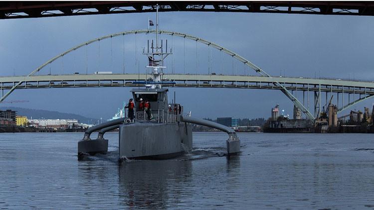 EE.UU. lanza su 'cazador de los mares' para contrarrestar el crecimiento naval de China y Rusia