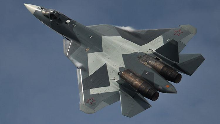 Estas son las asombrosas prestaciones del nuevo caza T-50 ruso