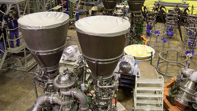 El Pentágono admite su dependencia de los motores rusos de cohetes