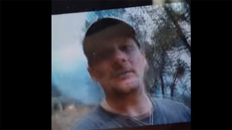 Sentencian a 20 años de cárcel a un estadounidense que se filmó provocando un incendio (Video)