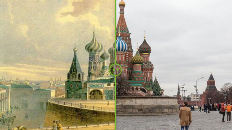 Las dos caras de Moscú, a través los siglos: Vea en imágenes cómo ha cambiado la capital rusa