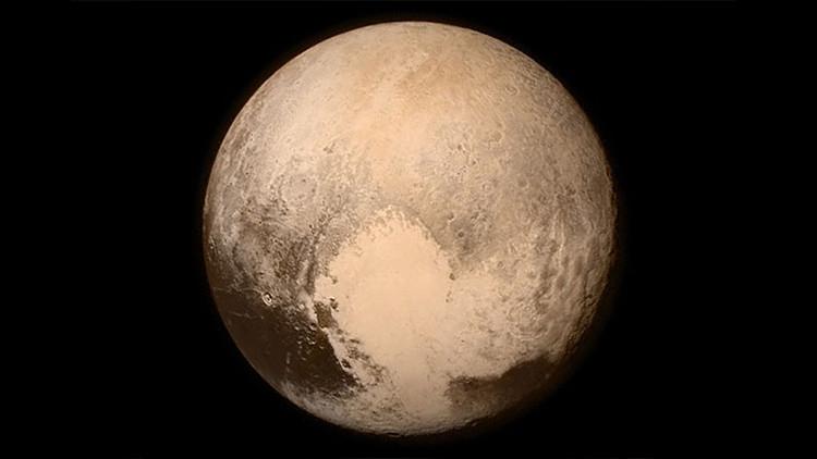 Revelan sorprendentes datos sobre el 'corazón' de Plutón