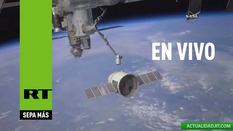VIDEO: La capsula Dragon se acopla a la Estación Espacial Internacional