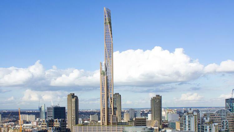 Arquitectura para el siglo XXI: proyectan un rascacielos de madera en Londres