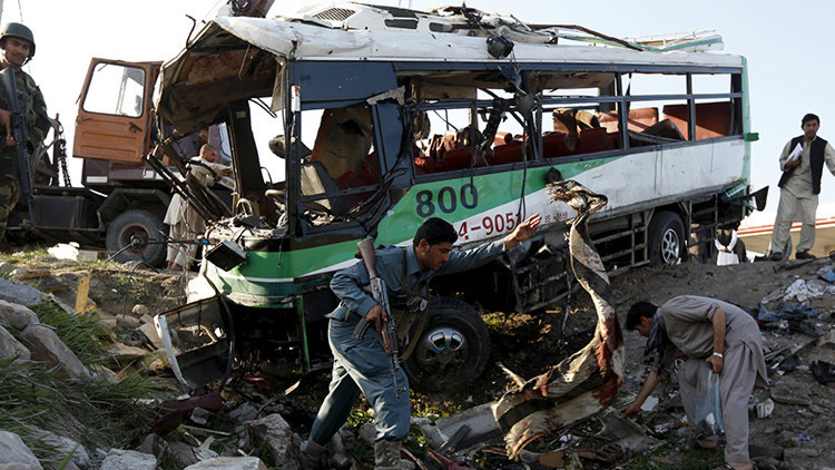 Afganistán: Al menos 12 reclutas mueren en un ataque suicida