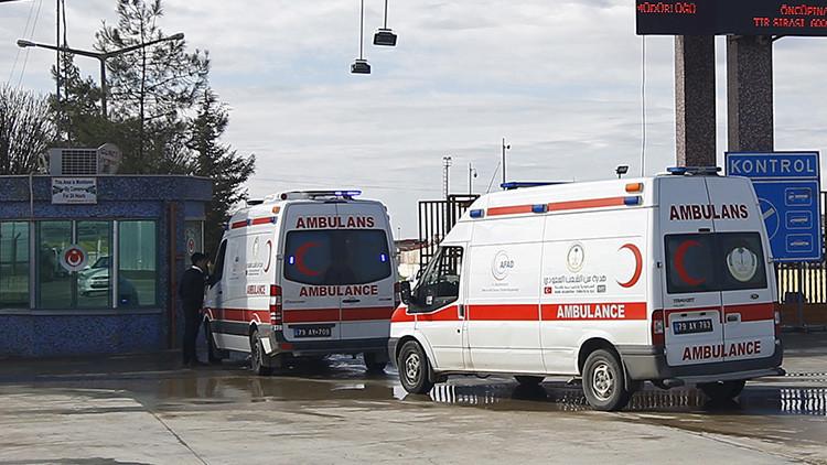 Misiles lanzados desde Siria impactan en Turquía