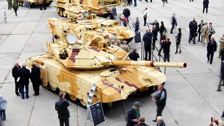 Manejar un tanque: una oferta turística del fabricante de los 'terminators' rusos