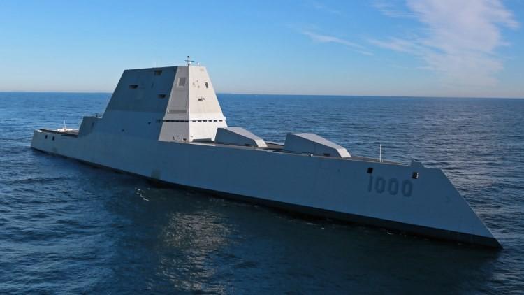 EE.UU. construye un gigantesco destructor demasiado sigiloso