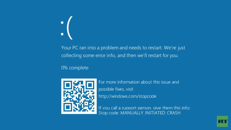 Windows 10 ultima una nueva 'pantalla azul de la muerte'