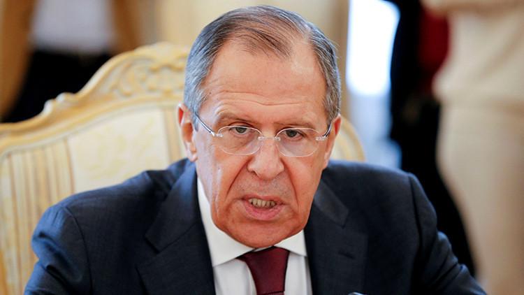 """Canciller Lavrov: """"El G7 no tiene influencia en los procesos políticos internacionales"""""""