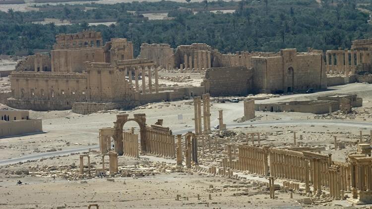 La Unesco aprueba por unanimidad resolución de Rusia sobre la restauración de Palmira