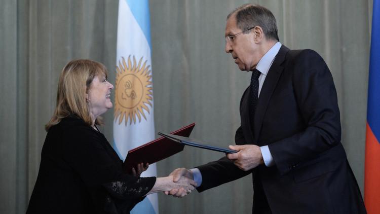 """""""Rusia y Argentina rechazan las sanciones y dobles estándares en la política internacional"""""""