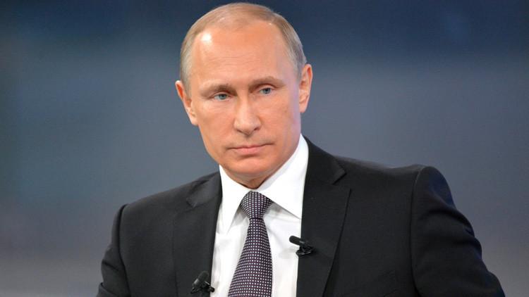 'Línea directa': Vladímir Putin contestará en directo a las preguntas de los rusos