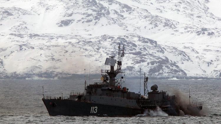 La Flota del Norte rusa lleva a cabo maniobras de búsqueda de submarinos enemigos