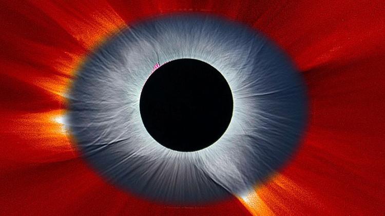 NASA muestra el 'ojo de Sauron' espacial
