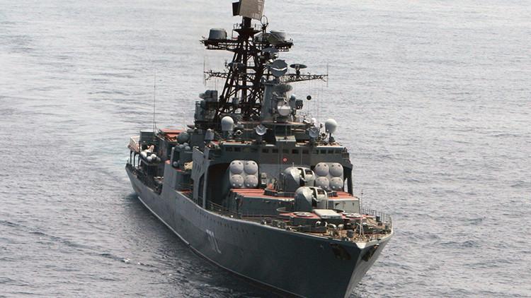 Más de 30 países participan en unas maniobras navales en el océano Índico