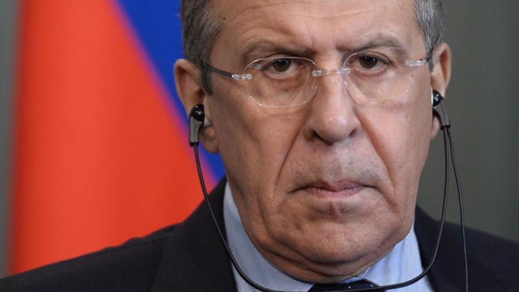 """Lavrov: """"La OTAN demoniza a Rusia para justificar su propia existencia"""""""