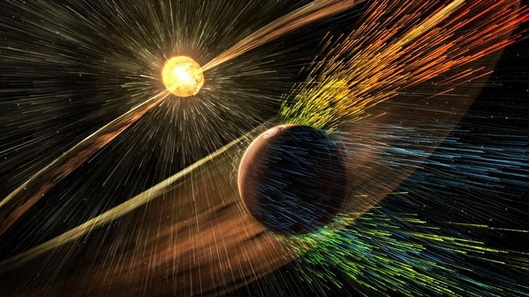 Marte al desnudo: modelo muestra cómo lo erosiona el viento solar (videos)