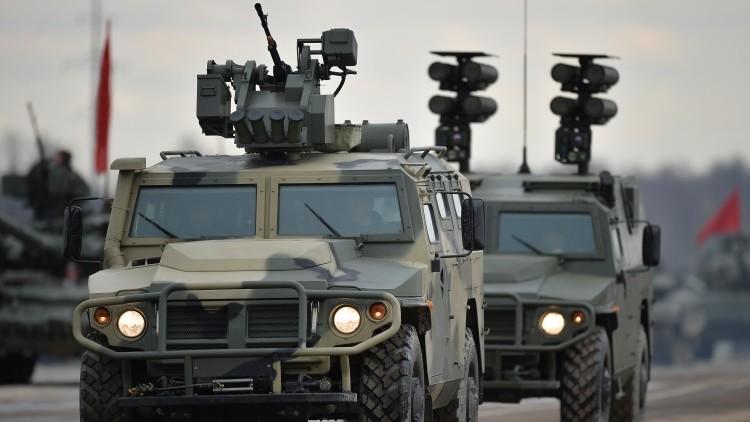 El Día de la Victoria Rusia presentará sus nuevos Tigr-M armados con ballestas automáticas