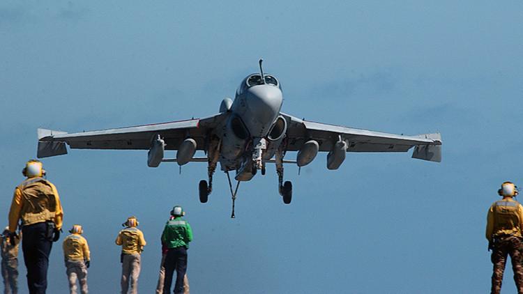 EE.UU. desplegará en Turquía aviones de guerra electrónica EA-6B Prowler