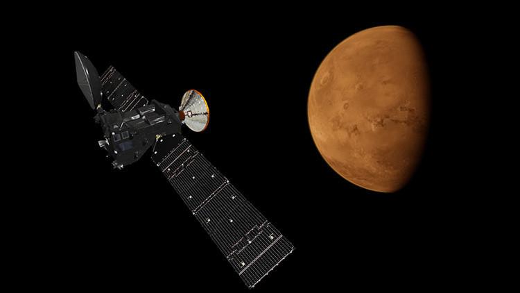 Misión 'vida en Marte': ExoMars realiza las primeras tomas en el espacio (FOTO)