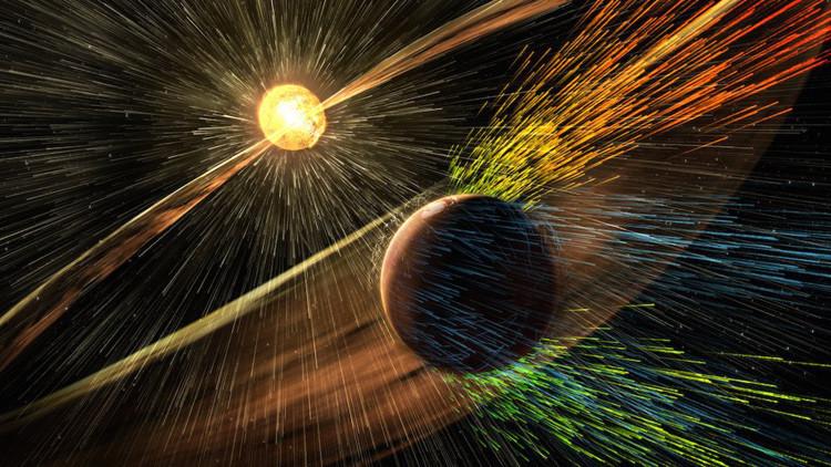 La NASA descubre por qué Marte pierde su atmósfera