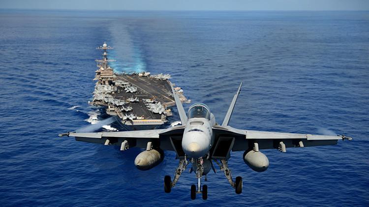Vuelven las tensiones: jefe del Pentágono visitará un portaaviones en el mar de la China Meridional