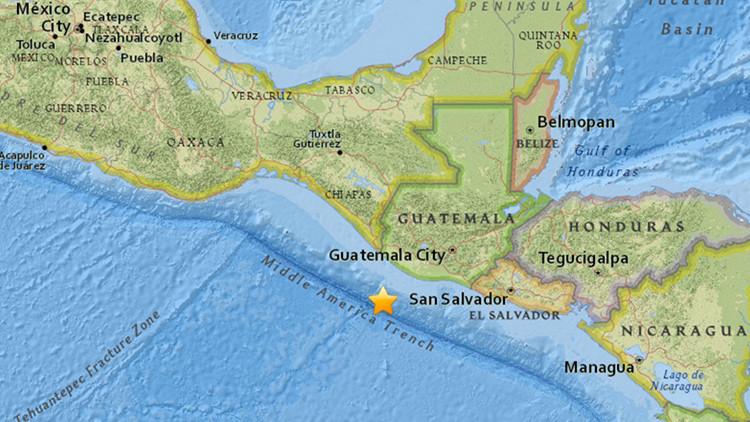 Se registra un sismo de magnitud 6,3 frente a la costa de Chiapas (México)