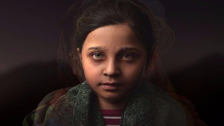 """La niña virtual Sofia es un """"símbolo para todos los huérfanos""""."""