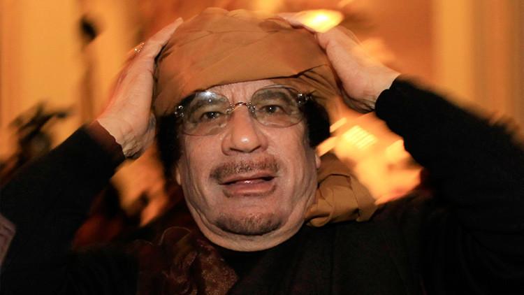 Gaddafi pidió apoyo a Israel en su confrontación con Occidente poco antes de ser derrocado