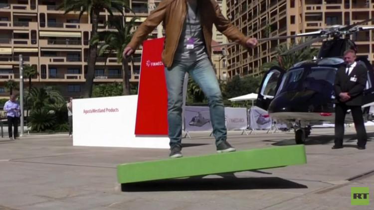 Ponen a la venta el 'hoverboard' de 'Regreso al futuro' (Video)