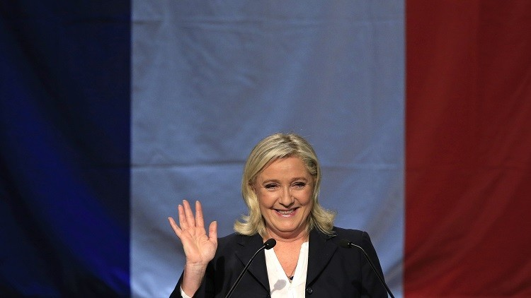 """Marine Le Pen considera que la Unión Europea es un """"fracaso absoluto"""""""
