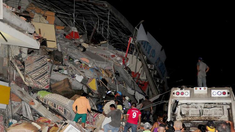 Fotos: Así quedó el paraíso tropical de Pedernales tras el terremoto de Ecuador