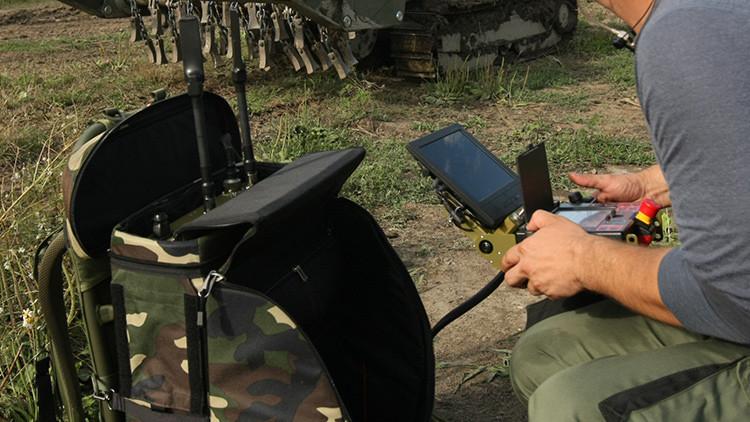 Muestran cómo será el 'lince' robótico ruso para la lucha antitanque