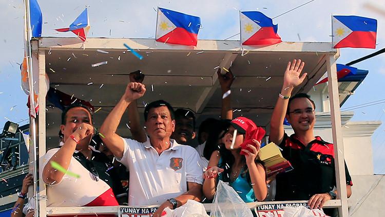 """Candidato filipino: """"La violaron, pero era muy guapa. El alcalde debió haberlo hecho primero"""""""