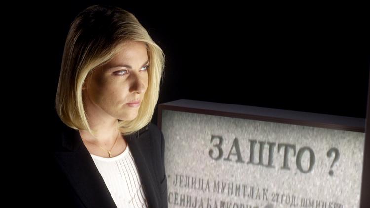 Jelena Milincic, corresponsal y presentadora de los informativos