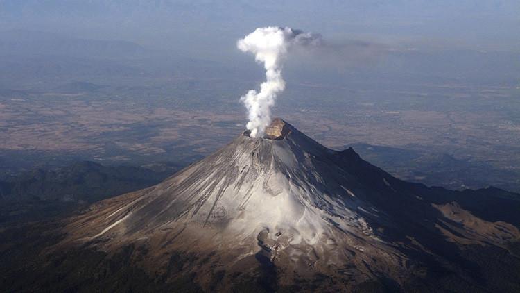 México enciende las alarmas por el incremento de la actividad del volcán Popocatépetl