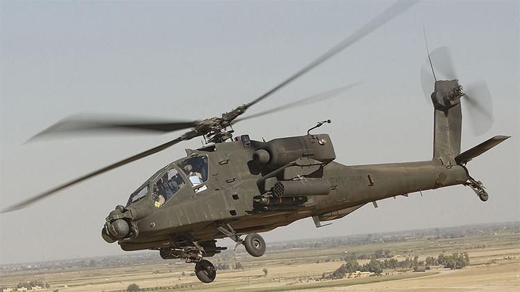 EE.UU. enviará helicópteros Apache y 200 militares más a Irak para luchar contra el EI