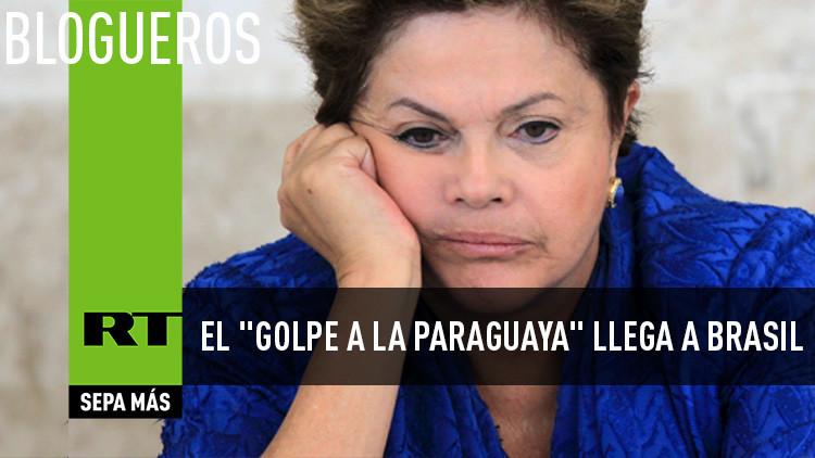 """El """"golpe a la paraguaya"""" llega a Brasil"""
