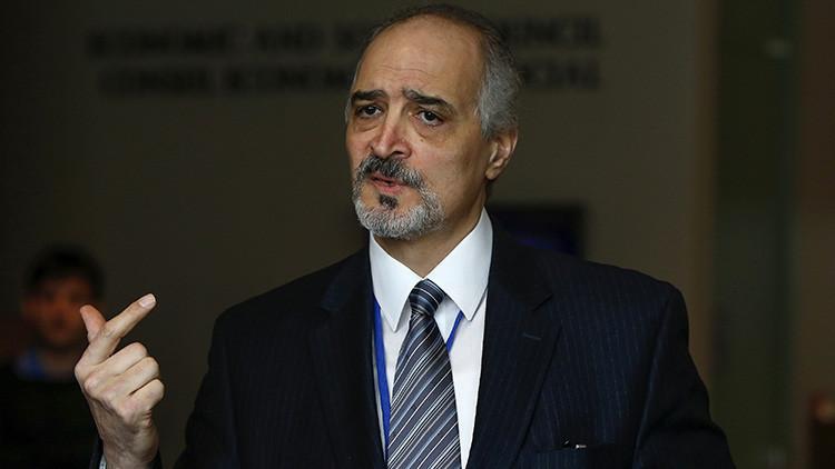 """Jefe negociador sirio: """"Israel coopera con los terroristas del Estado Islámico y de Al Qaeda"""""""