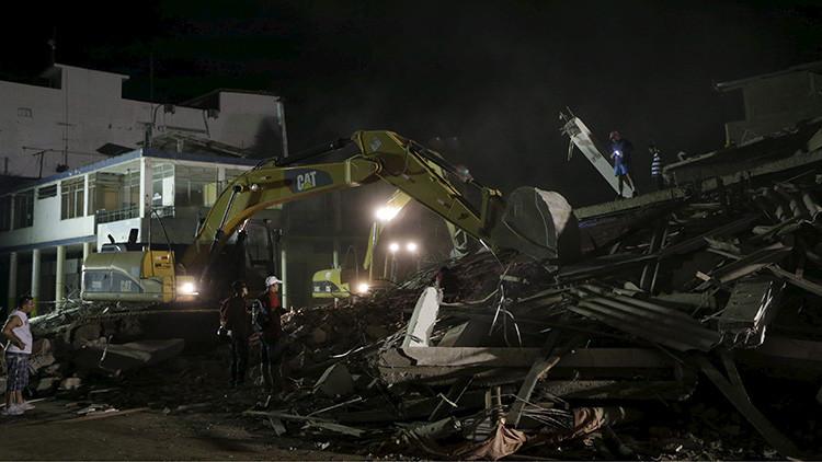 Nuevo video del terremoto de Ecuador: Autos y edificios tiemblan como si fueran de juguete