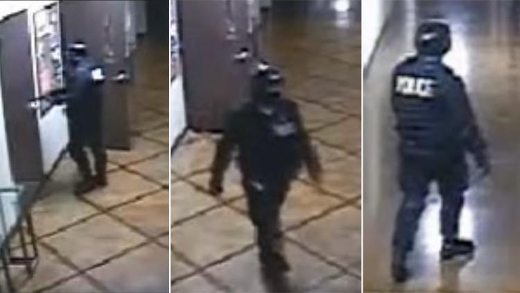 Un hombre vestido de policía mata a una instructora de 'fitness' en una iglesia de Texas (video)