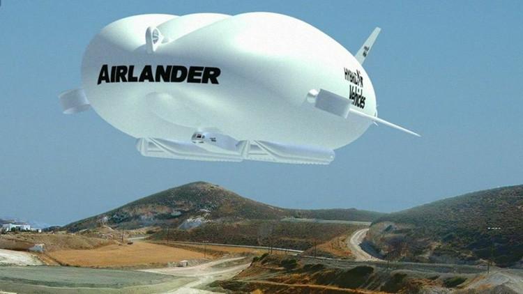 'El Trasero Volador': El nuevo dirigible británico está listo para volar
