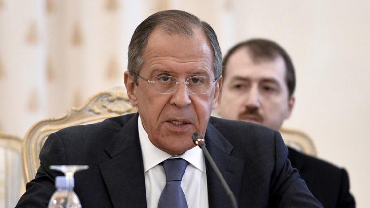 """Lavrov sobre la cumbre de la OTAN-Rusia: """"No habrá juego en una sola portería"""""""