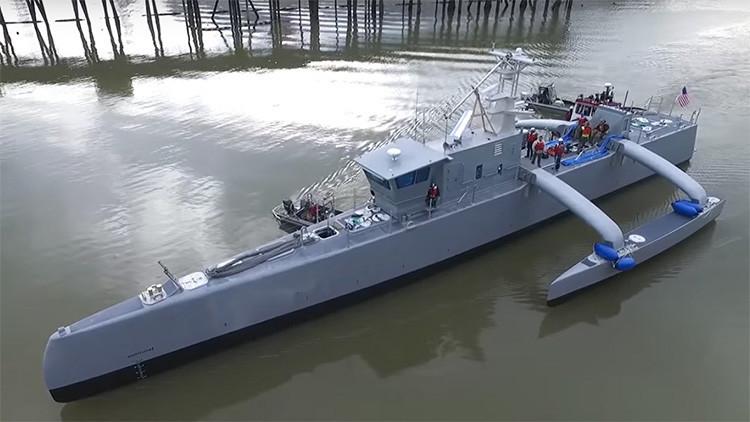 ¿Por qué EE.UU. planea desplegar drones submarinos en el mar de la China Meridional?