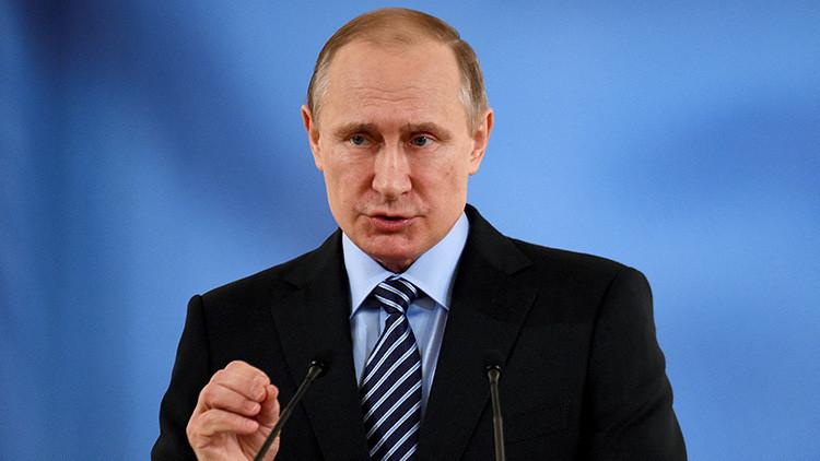 Putin: El apoyo de Rusia a Damasco permitió evitar la desintegración de Siria