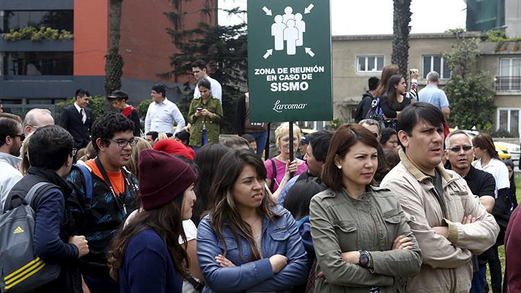 Perú advierte que un sismo de magnitud 8,8 podría afectar a la costa central del país