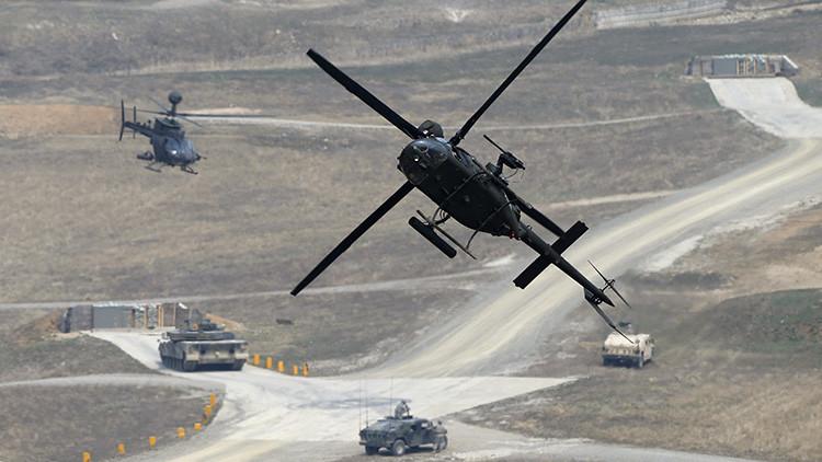 Así es como militares de Washington y Seúl 'sacan pecho' ante Corea del Norte (Video)