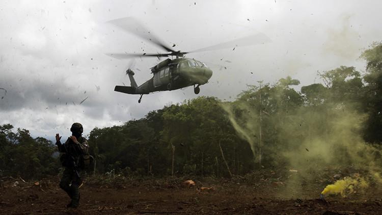 Operativo de película: Capturan a un narco en Colombia con helicópteros y fusiles de asalto (Video)